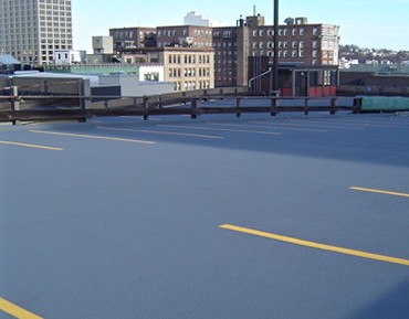 Kelmar FWC Parking Deck Coating by Concrete Polishing & Sealing - Ottawa