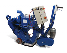 self propelled Blastrac 10DPS75 floor grinder